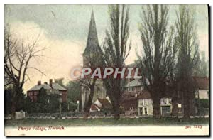 Carte Postale Ancienne Thorpe Village Norwich