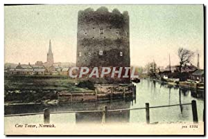 Carte Postale Ancienne Norwich Cow Tower