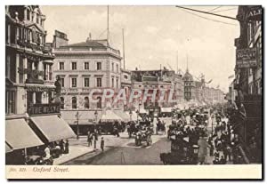 Carte Postale Ancienne Oxford Street