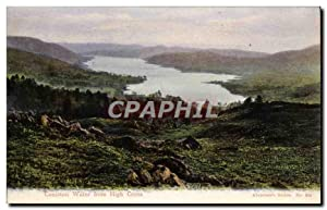 Carte Postale Ancienne Coniston Water From High Cross