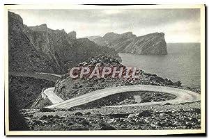 Carte Postale Moderne Lacets de route pres