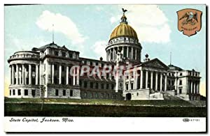 Carte Postale Ancienne State Capital Jackson Miss