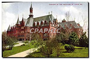Carte Postale Ancienne Convent of the Visitation St Louis