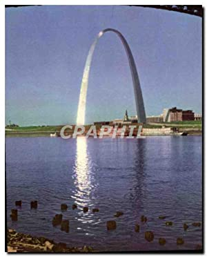 Carte Postale Moderne Sunrise On Arch St Louis Gateway Arch Seen From East St Louis