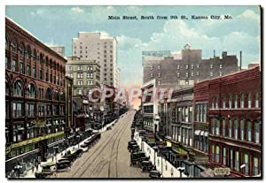 Carte Postale Ancienne Main Street South From St Kansas City Mo
