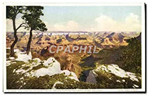Carte Postale Ancienne The Canyon From el Tovar Grand Canyon National Park Arizona