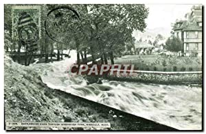 Carte Postale Ancienne Rattlesnake River On rampage Missoula Montana