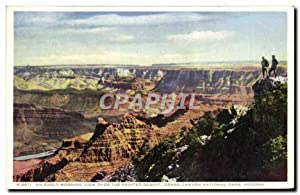 Carte Postale Ancienne Arizona An Early Morning View Over the Painted Desert Grand Canyon Nationa...