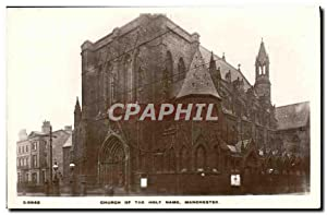 Carte Postale Ancienne Church of the holy Name Manchester