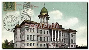 Carte Postale Ancienne County Court House Great Falls Mont