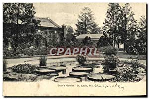 Carte Postale Ancienne Shaw's Garden St Louis