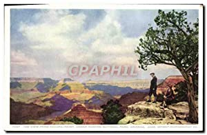 Carte Postale Ancienne The View Frm Yavapai Point Grand Canyon National Park