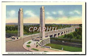Carte Postale Ancienne Entrance To Soldiers And Sailors Memorial Bridge Zembo Mosque from Italian...