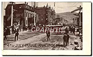 Carte Postale Ancienne July Parade Anaconda