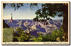 Carte Postale Ancienne The Grand Canyon Color foto byWorld Airlines