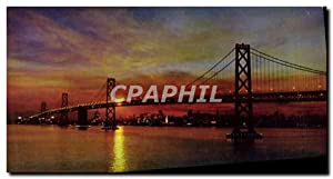 Carte Postale Moderne Sunset San Francisco Bay