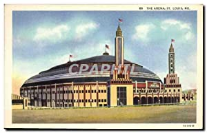Carte Postale Ancienne The Arena St Louis Mo