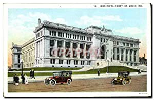 Carte Postale Ancienne Municipal Court St Louis Mo