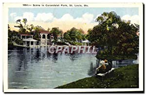 Carte Postale Ancienne Secne In Carondelet Park St Louis Mo