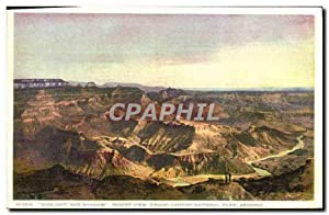 Carte Postale Ancienne Arizona Sunlight and Shadow Desert View Grand Canyon National Park