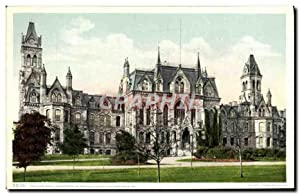 Carte Postale Ancienne College Hall University Of Pennsylvania Philadelphia Pa