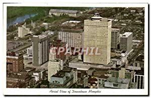Carte Postale Moderne Aerial View Of Dountown Memphis
