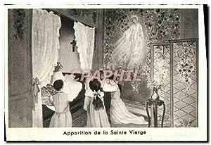 Carte Postale Moderne Apparition de la Sainte