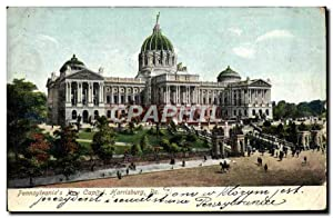 Carte Postale Ancienne Pennsylvania's New Capitol Harrisburgh Pa