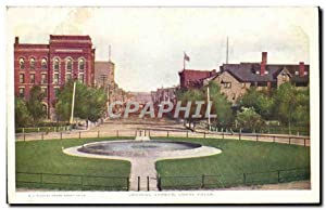 Carte Postale Ancienne Central Avenue Great Falls