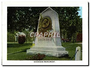 Carte Postale Moderne Sheridan Monument Rough Riders
