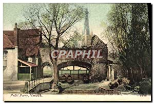 Carte Postale Ancienne Pull's Ferry Norwich