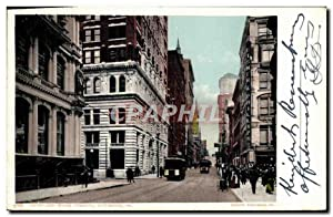 Carte Postale Ancienne Fifth and Wood Streets Pittsburg Pa