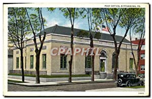 Carte Postale Ancienne Post Office Kittanning Pa