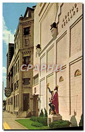 Carte Postale Moderne The Statue of Gambrinus The Legendary Flemish King