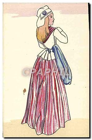 Carte Postale Ancienne Histoire Du Costume français