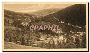 Carte Postale Ancienne Triberg Blick in dasn Schonachtal
