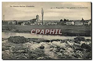 Carte Postale Ancienne Fougerolles vue générale et