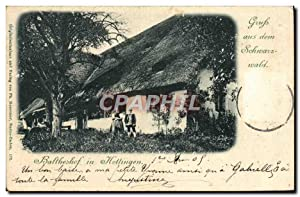 Carte Postale Ancienne Baltheshof in Hottingen