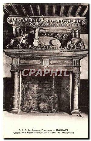 Carte Postale Ancienne La Dordogne Pittoresque Sarlat
