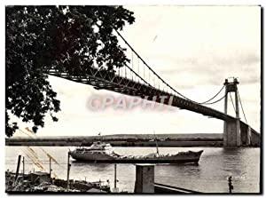 Carte Postale Moderne Pont de Tancarville Le