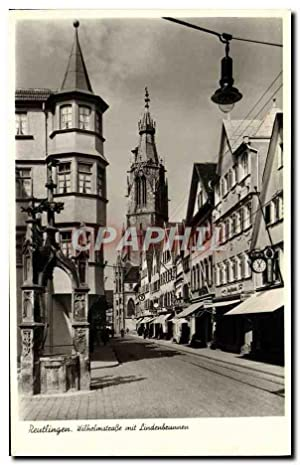 Carte Postale Ancienne Reutlingen