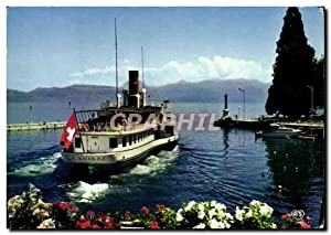 Carte Postale Moderne Evian Les Bains En
