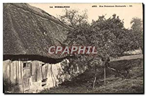 Carte Postale Ancienne Normandie Nos pommiers normands