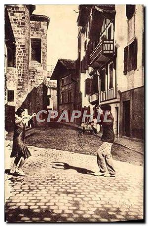 Carte Postale Ancienne Au Pays Basque La