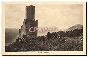 Carte Postale Ancienne Ruine Ortenburg