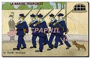 Carte Postale Ancienne Bateau Guerre Marine française