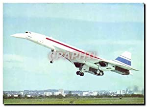 Carte Postale Moderne Avion Aviation Concorde 2 mars 1969