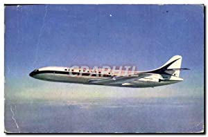 Carte Postale Ancienne Avion Aviation Caravelle Air France
