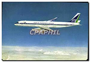 Carte Postale Ancienne Avion Aviation UTA Super DC8 62