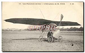Carte Postale Ancienne Avion Aviation Aeroplane de M Vuia